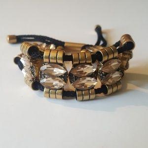 J Crew adjustable Bracelet